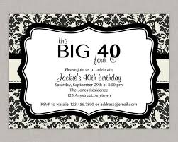 40th birthday invitations badbrya