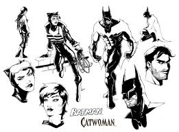 batman and catwoman designs by ponsho on deviantart