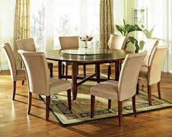 large dining room table seats 10 with dark brown finish home