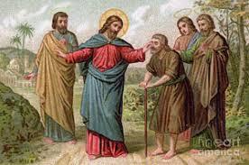 Christ Healing The Blind Act Of God Art Fine Art America