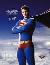 superman got milk ad advertisers released the ad along w