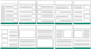 how to layout a email email marketing layout and design the template the sage crm blog