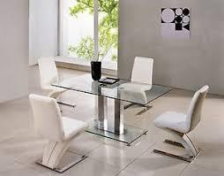 glass and chrome dining table savio small rectangular glass chrome dining table only 4 colours