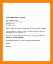 6 2 weeks notice letter example doctors signature