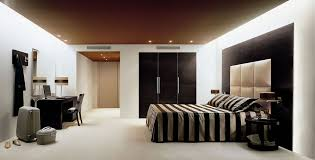 Brown And Creany Bedroom Interior With Creamy Carpet Hotel - Hotel bedroom furniture