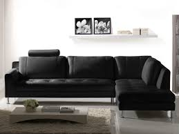 canapé d angle noir cuir canapé d angle en cuir xl noir gris ou