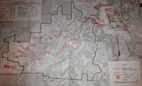 Buffalo Creek Trail Map Big Piney Trail Hike March 15 16 2013 Derek Vreeland