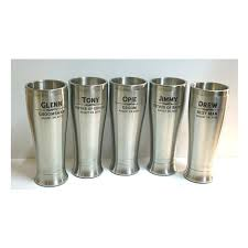 stainless steel tumbler personalized glasses wedding party