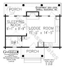 mountain cabin floor plans mountain cottage house plan house plans by garrell associates inc