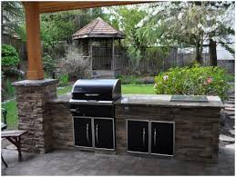 Backyard Cheap Ideas Backyards Trendy Backyard Bbq Island Ideas 13 Pictures Idea For