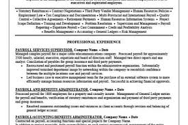 Payroll Manager Resume Cover Letter Example For Customer Service Thesis Statement On Fire