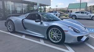 blue porsche spyder want to buy a 10k mile porsche 918 spyder for 1 4 million the