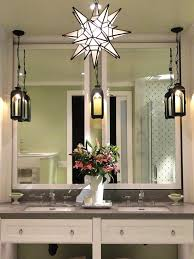 Pendant Light In Bathroom Hanging Light Fixtures For Bathrooms With Remarkable Bathroom