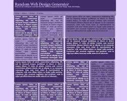 random web design generator w3 validated html5 css3 template org