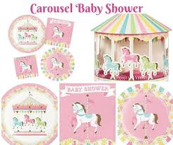 carousel baby shower baby shower themes archives baby shower wikii