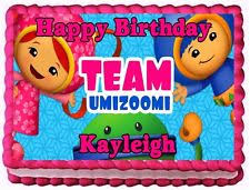 team umizoomi cake topper team umizoomi decorations birthday ebay