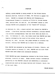 Bench Warrant Child Support Ruby Ridge Part One Suspicion American Experience Official