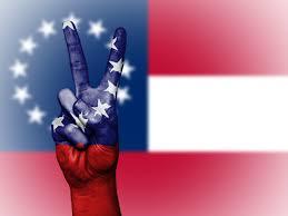 Southern Rebel Flag Free Images Hand Country Finger Symbol Banner Flag Freedom
