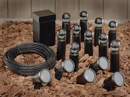 Low Voltage Landscaping Lights Low Voltage Landscape Lighting Sets Home Design