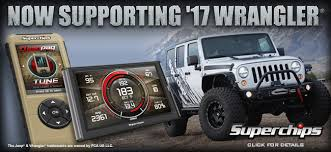 tuning jeep wrangler 2017 jeep wrangler tuning now supported superchips