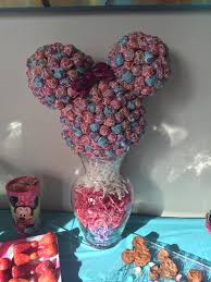 minnie mouse center pieces berries of wisdom minnie mouse sucker centerpiece