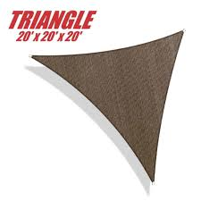 Canopy Triangle Sun Shade by Amazon Com Shade Sails Patio Lawn U0026 Garden