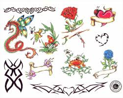 roses with heart tattoos drawings urldircom