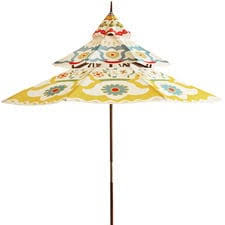 Patterned Patio Umbrellas Patio Umbrellas Free Shipping Over 49 Pier1 Com Pier 1 Imports
