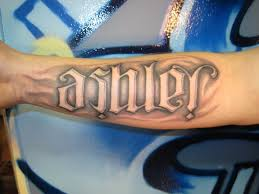 name tattoo designs for men creativefan