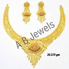 necklace design images Gold necklaces gold jadau necklace manufacturer from new delhi jpg
