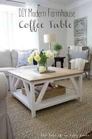 Diy Coffee Table Ideas Best 25 Farmhouse Coffee Tables Ideas On Pinterest Diy Pertaining