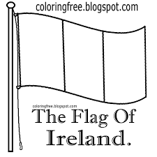 ireland coloring pages for kids virtren com