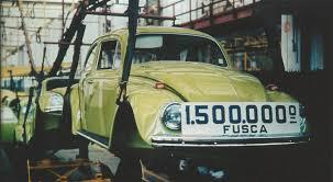 Hoje é o Dia Nacional do Fusca – Memória Motor