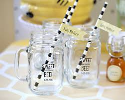 bee baby shower personalized sweet as can bee baby shower mugs