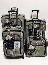 ultra light luggage sets london fog belvedere 4pc ultra light luggage set expandable midnight