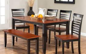 Bench Dining Room Sets Bench Ideal Bench Dining Room Chairs Suitable Bench For A Dining
