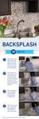 best diy kitchen backsplash ideas and designs for adhesive tile segments make backsplash installation easy