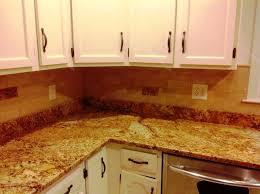 low cost tile backsplash ideas for granite countertops regarding