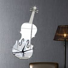 compare prices on violin wall clock online shopping buy low price
