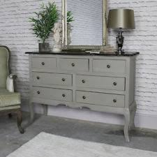 large silver rose chest of drawers shabby bedroom furniture chic