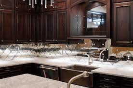 mirror tile backsplash kitchen antique mirror subway tile backsplash contemporary kitchen
