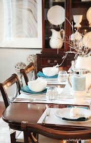 dining room decorating ideas pictures beachy dining room decorating ideas setting for four