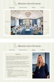 interior design website for meredith anne interiors