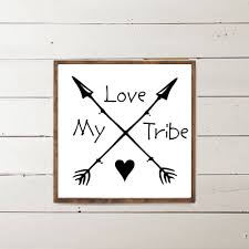 love my tribe wood sign home decor wood signs wooden signs