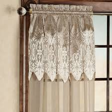 coffee tables lace curtain panels with attached valance cheap