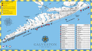 Texas State Parks Map by Galveston Beach Parks Now Open Island Guide Magazine