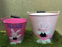 painted easter buckets s personalized gifts monograms home