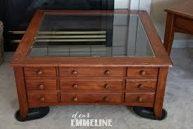 glass shadow box coffee table coffee table simple woodworking coffee table with glass display top