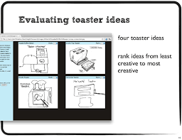 Toaster Ideas The Influence Of Sketch Quality On Perception Of Product Idea Creativ U2026