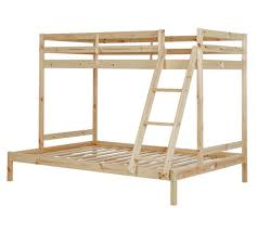 Buy HOME Kaycie Single And Double Bunk Bed Frame Pine At Argos - Single double bunk beds